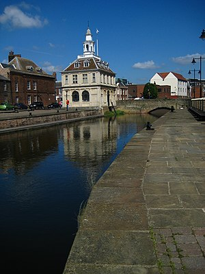 Henry Bell (architect) - The Custom House in King's Lynn, one of Bell's most famous designs