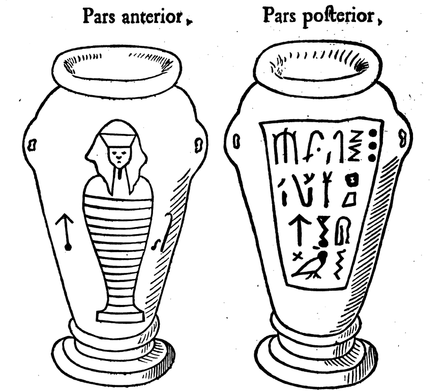 File:Kircher oedipus aegyptiacus 20 canopic jars.png ...