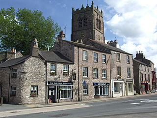 Kirkby Stephen market town in Cumbria, England