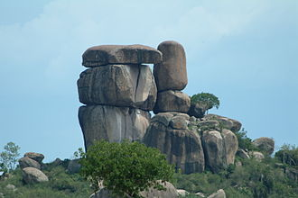 Tor (rock formation) - Kit-Mikayi, a celebrated tor near Kisumu, Kenya.