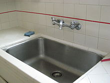 อ่างล้างจาน ในห้องครัว