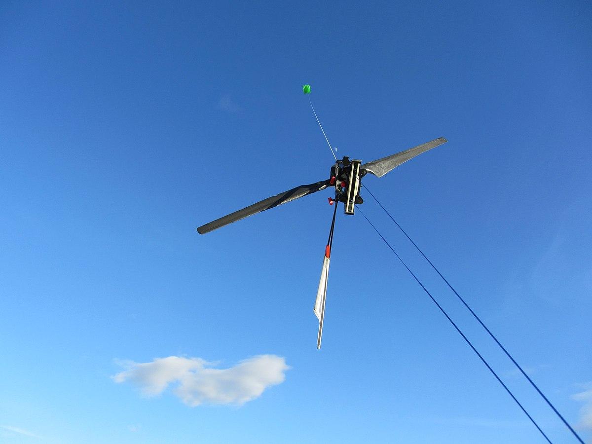 Airborne Wind Turbine Wikipedia Power Plant Diagram Stability Of