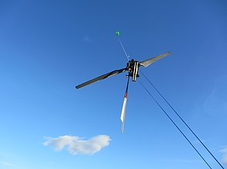 Airborne wind turbine - Image: Kiwee One