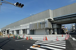 Kizuri-Kamikita Station Railway station in Higashiōsaka, Osaka Prefecture, Japan