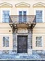 Klagenfurt Villacher Vorstadt Villacher Ring 31 Sichl-Egger-Haus Portal mit Balkon 03122018 5547.jpg