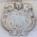 Klagenfurt Welzenegg Krastowitz 1 Schloss Krastowitz Doppelwappen Schober-Kulmer 29122016 5888.jpg