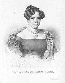 Klara Vespermann (1799–1827) (Quelle: Wikimedia)