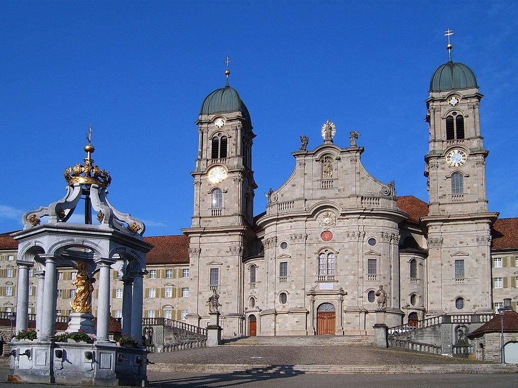 Bon Dimanche 1024px-Kloster_Einsiedeln_001