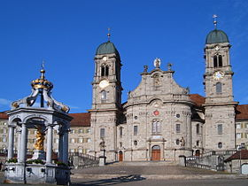 Image illustrative de l'article Abbaye territoriale d'Einsiedeln