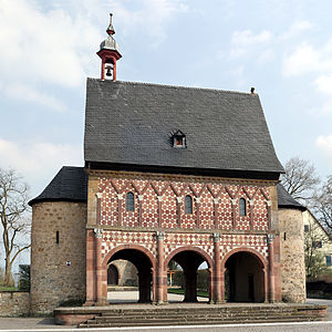 Carolingian architecture - Lorsch monastery gatehouse