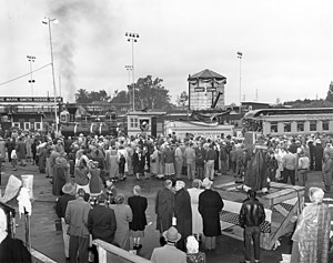 Ghost Town & Calico Railroad - Grand Opening of the Calico Railroad in 1952.