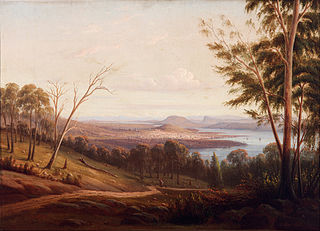View of Hobart Town