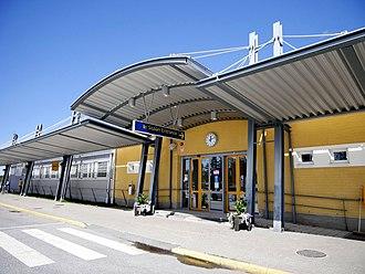 Kokkola-Pietarsaari Airport - Image: Kokkola Pietarsaari Airport 2017