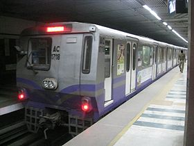 Image illustrative de l'article Métro de Calcutta