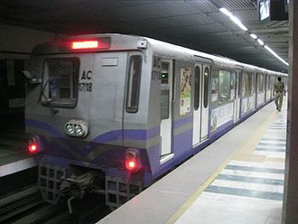 Kolkata Metro - 3000 (new) AC Series coaches of Kolkata Metro