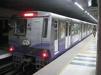 Kolkata Metro - 3000 (new) AC series coaches of Kolkata Metro