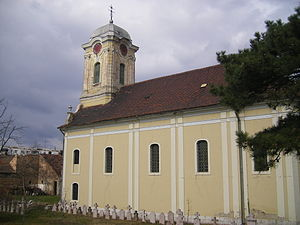 Komárno - Serbian church in Komarno, mid-18th century