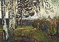 Konstantin Gorbatov - Landscape with Church.jpg