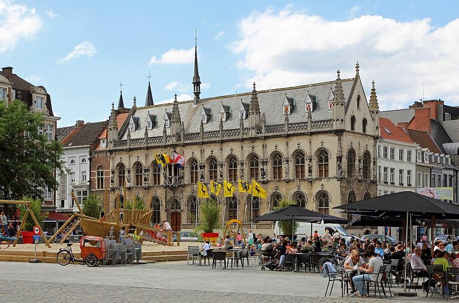 Kortrijk (Belgium): town hall