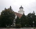 Kostel sv. Jakuba Staršího (Pohořelice), nám. Svobody, Pohořelice - jiný pohled.JPG