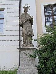 socha svatého Jana Nepomuckého v Brně