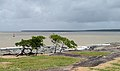 Kourou River estuary from Pointe des roches 2013.jpg