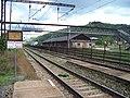 Králův Dvůr, nádraží, lávka Králodvorských železáren.jpg