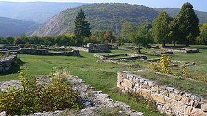Krakra of Pernik - Ruins of Krakra's fortress near Pernik