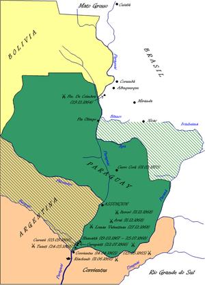 Pueblo paraguayo antes y despues de la guerra del Paraguay