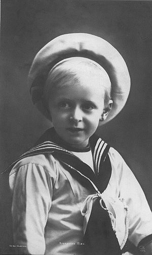 Olav V of Norway - Crown Prince Olav, 1907