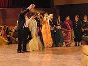 Kurdish wedding dance in Sanandaj, Iran.