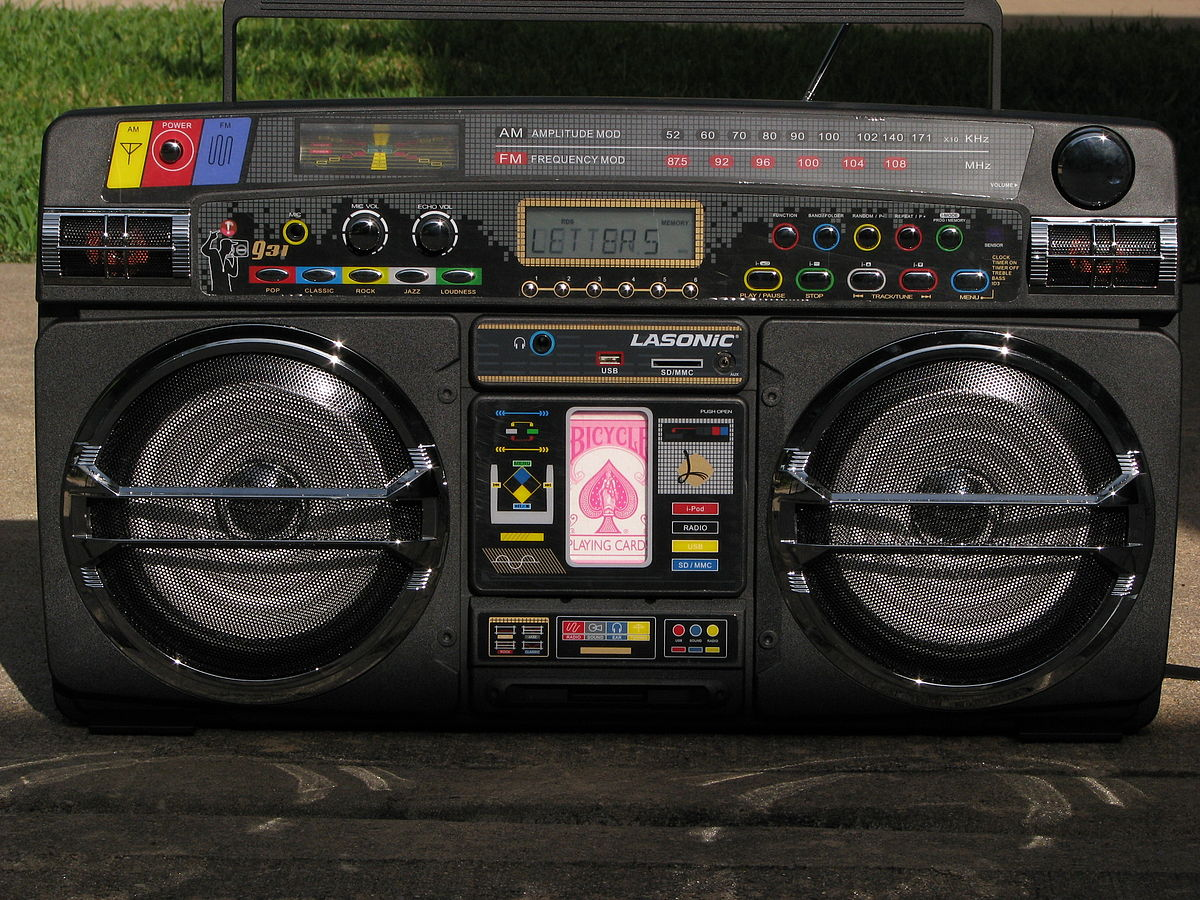 Lasonic wikipedia - Lasonic ghetto blaster i931x ...