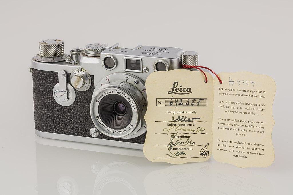 File:LEI0431 191 Leica IIIf chrome 1954 - Sn  692358 M39