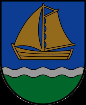 Ventspils Municipality - Image: LVA Ventspils novads COA