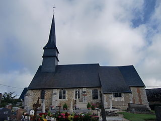 La Chapelle-Bayvel Commune in Normandy, France