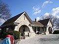 LaGrange Stone Ave - front of station building (5584173012).jpg