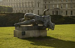 La Rivière by Aristide Maillol, Paris 7 October 2012.jpg