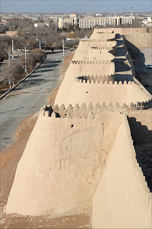 Khiva - City wall
