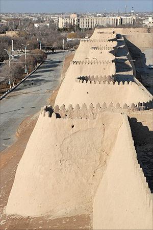 La muraille ouest de Khiva (Ouzbékistan) (5586448125)