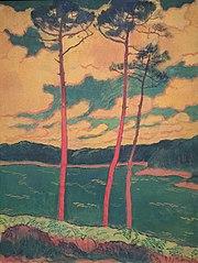Les pins rouges