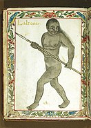 Ladrones - Hunter from Marianas -Boxer Codex (1590).jpg
