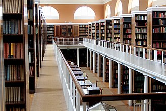 Lady Margaret Hall, Oxford - Lady Margaret Hall Library