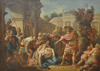 Horatii - Publius Horatius after killing his sister