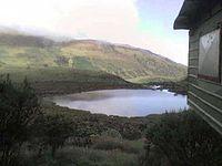 Laguna Negra, en el Departamento de Caldas.
