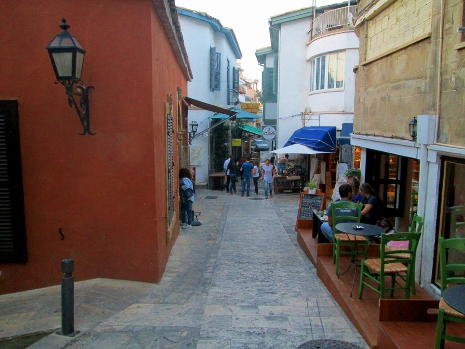 Laiki Geitonia traditional quarters with old mansions of Nicosia capital of Cyprus 3