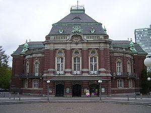 Laeiszhalle - Image: Laiszhalle in Hamburg Neustadt