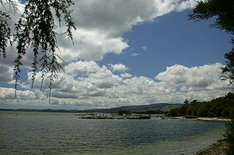 Lake Rotorua - Image: Lake Rotorua