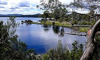 Lake St Clair (Tasmania) - Image: Lake St Clair NP Tas