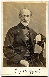 Giuseppe Mazzini.