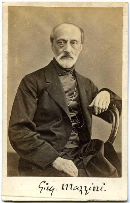 Lama, Domenico (1823-1890) - Giuseppe Mazzini